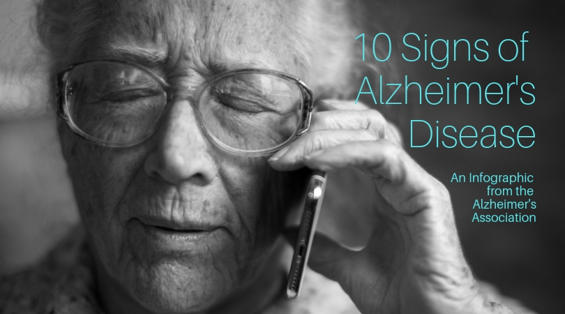 Memory Care - 10 Signs of Alzheimer's disease